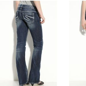 Silver Jean's aiko bootcut dark wash 31x 31